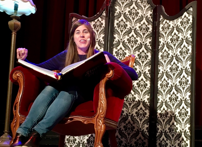 Story Club comedy performance, December 2017, Ashley Kalagian Blunt