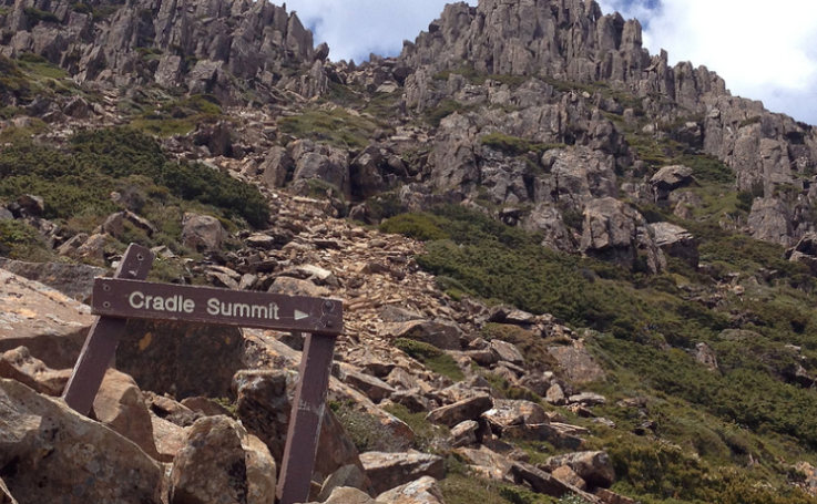 Cradle Mountain summit, Tasmania by Ashley Kalagian Blunt
