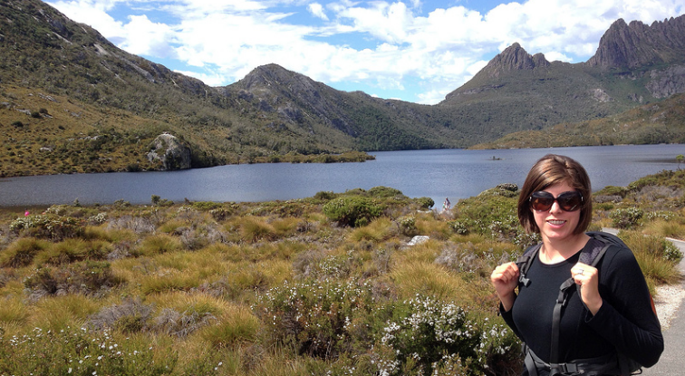 Dove Lake, Tasmania travel, by Ashley Kalagian Blunt