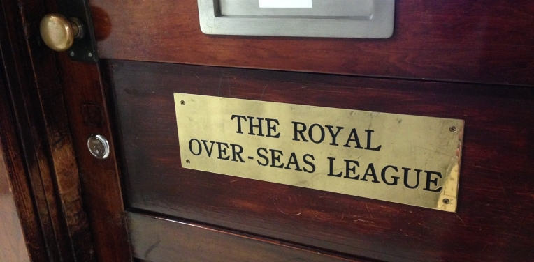 The Royal Over-Seas League in Melbourne, Australia