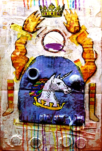 The Unicorn by Chris Roberts, created from the short story by Ashley Kalagian Blunt