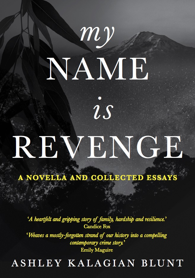 My Name Is Revenge book cover by Kalagian Blunt