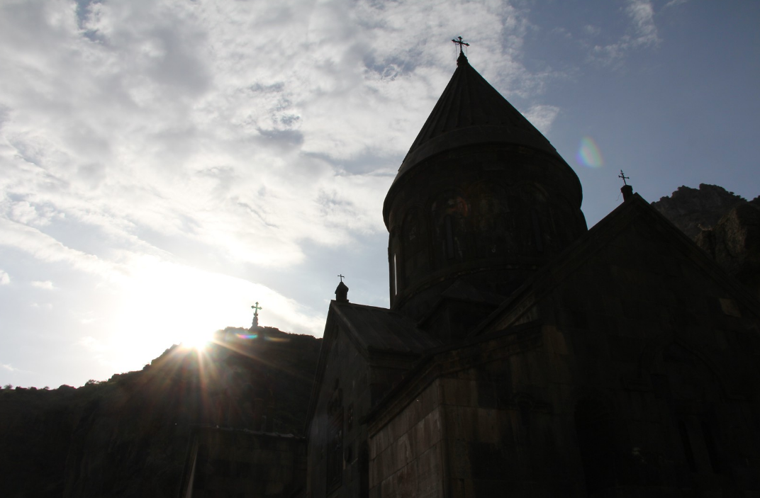 Geghard Monastery, Armenia, in My Name Is Revenge