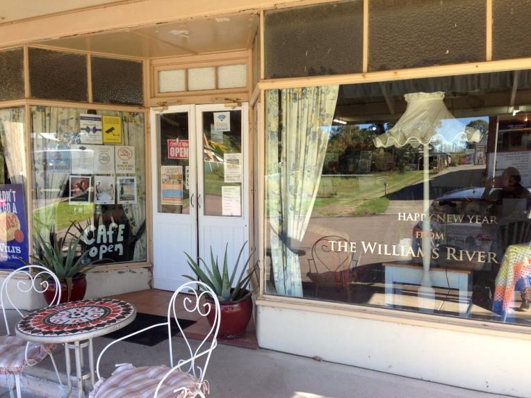 The Williams River Cafe in Clarence Town, Australia