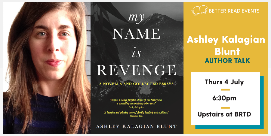 Ashley Kalagian Blunt book cover Better Read Than Dead author talk