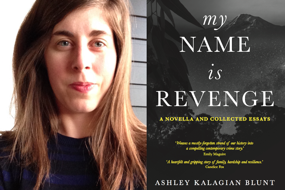 Ashley Kalagian Blunt plus book cover of My Name Is Revenge