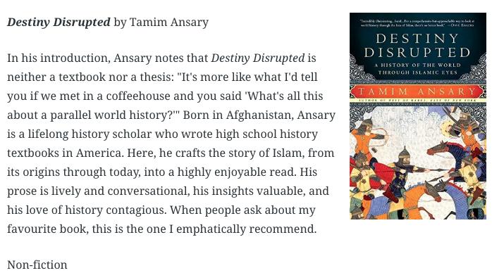 Author Tamim Ansary cover