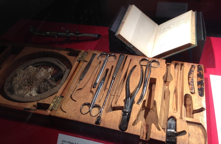 Ovariotomy instruments, medial history