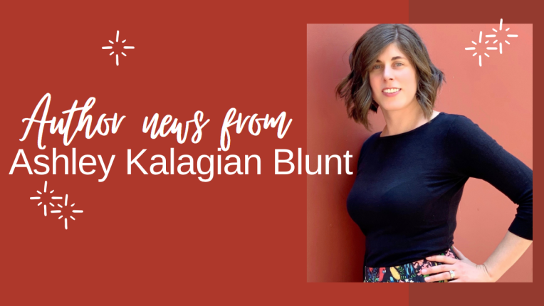 Author news Ashley Kalagian Blunt