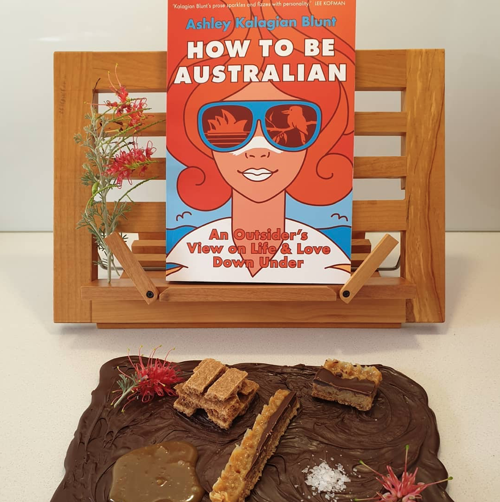 Deconstructed caramel slice and How to Be Australian