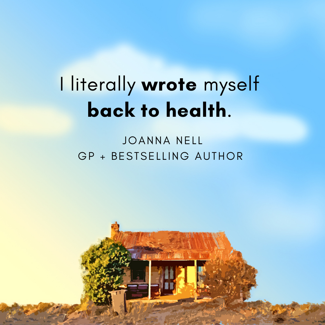 Author Joanna Nell on James and Ashley Stay at Home writing podcast